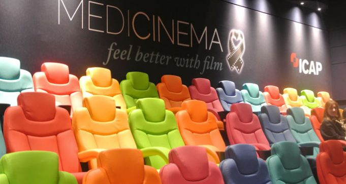 Rome's Gemelli hospital screens films for young patients