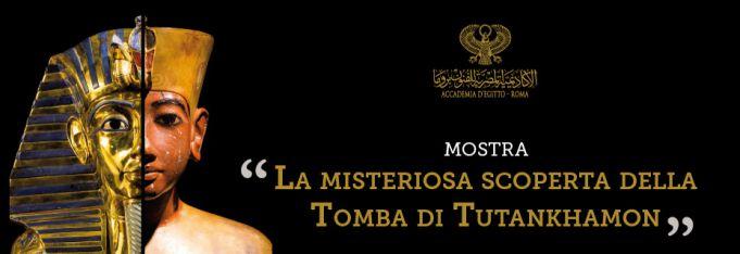 Tutankhamon at Egyptian Academy in Rome