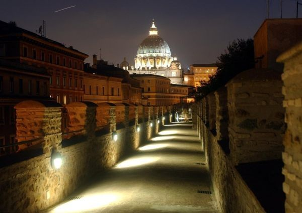 Visit secret areas of Rome's Castel S. Angelo