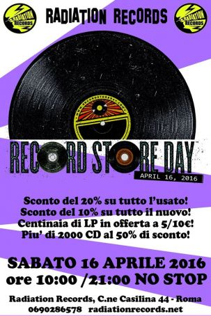 Record Store Day in Rome