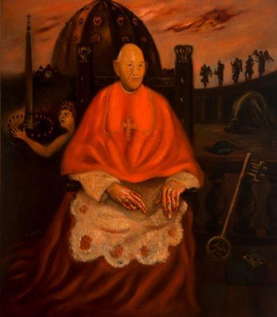 Il Cardinale Decano by Scipione.