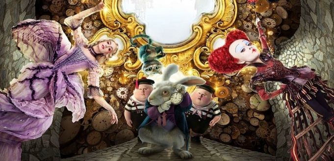 Alice Through The Looking Glass showing in Rome