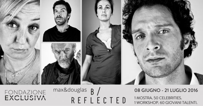 B/Reflected exhibition and workshop in Rome