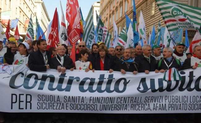 Rome city workers strike on 25 May