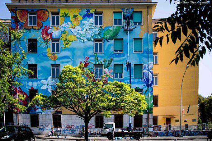 gaia rome mural 2