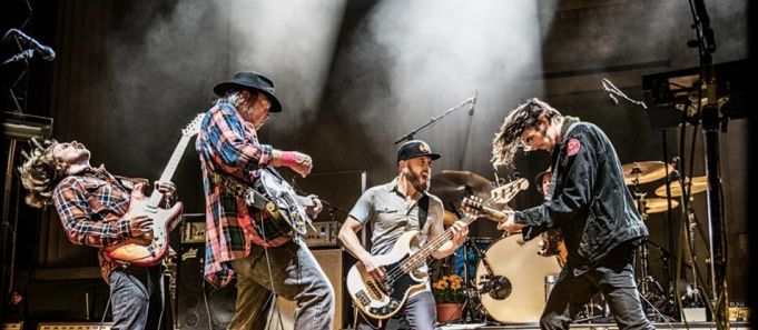 Neil Young concert in Rome