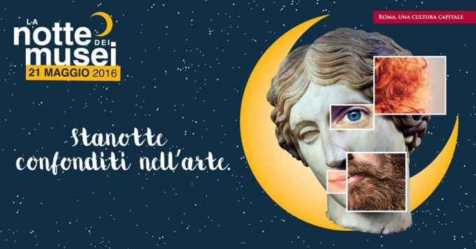Museum Night in Rome on 21 May