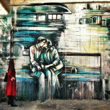 New street art in Rome