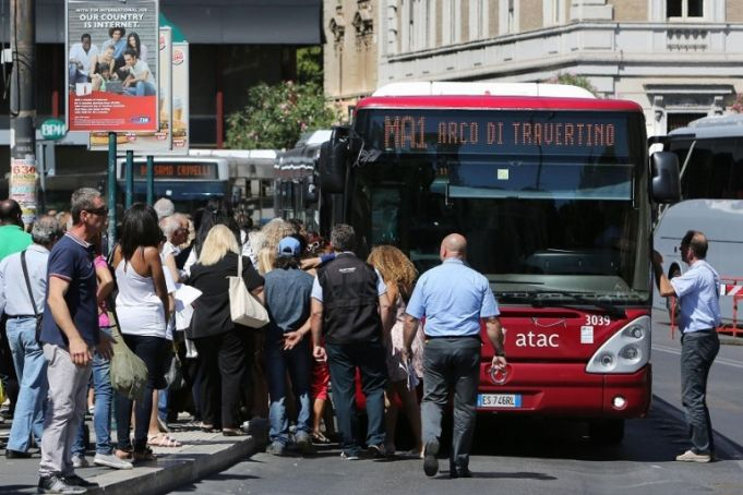 Public transport strike in Rome on 31 May
