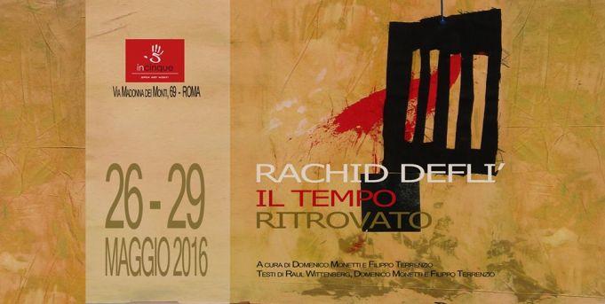 Rachid Deflì: Il tempo ritrovato