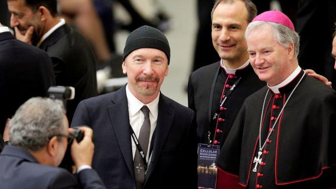 U2 guitarist performs in Sistine Chapel