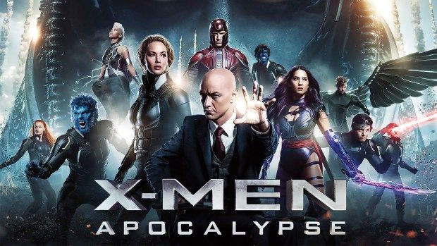 X-Men Apocalypse showing in Rome