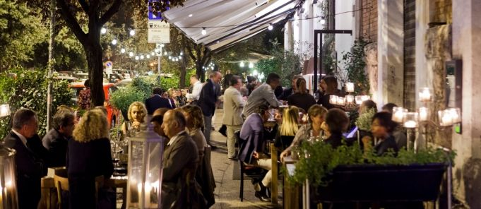 Greenhouse Restaurant Dublin at Rome's Settembrini