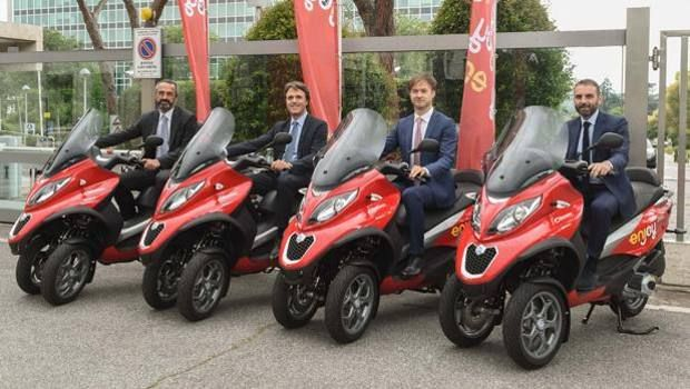Enjoy scooter sharing launches in Rome