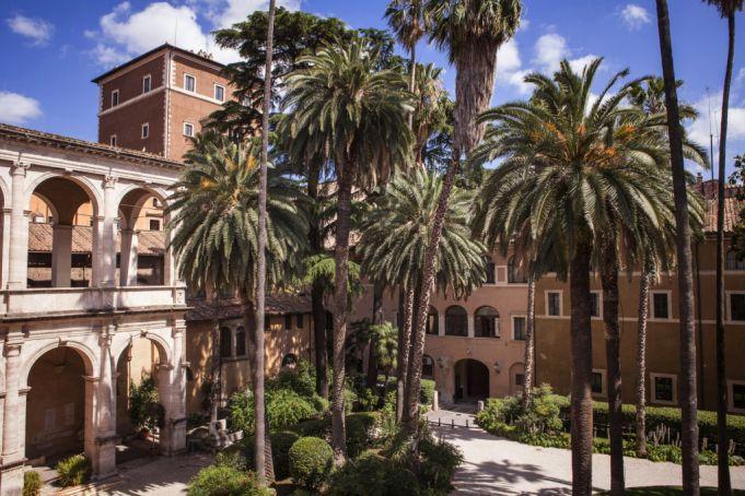 Gardens of Palazzo Venezia. Photo Claudia Pajewski.