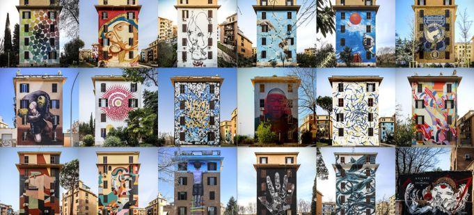 Rome street art project at Venice Architecture Biennale