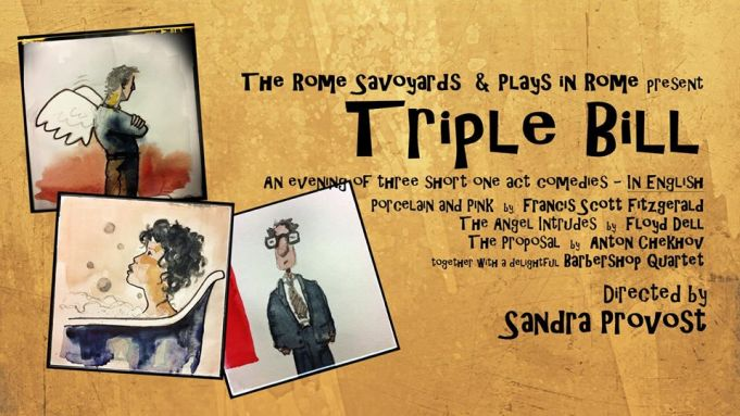 The Rome Savoyards & Plays in Rome: Triple Bill