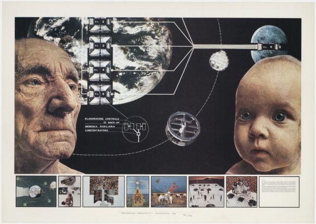 Superstudio, Fundamental Acts. Education. Project 1, 1971, lithograph. Courtesy Fondazione MAXXI.