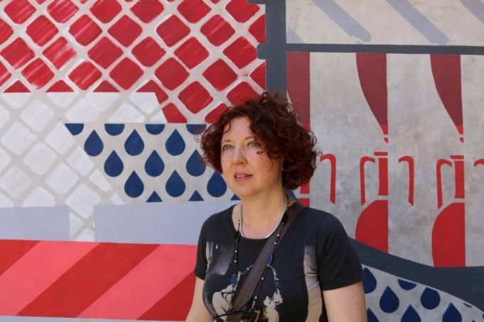 Researcher Irene Ranaldi is an expert of the gentrification of Testaccio.