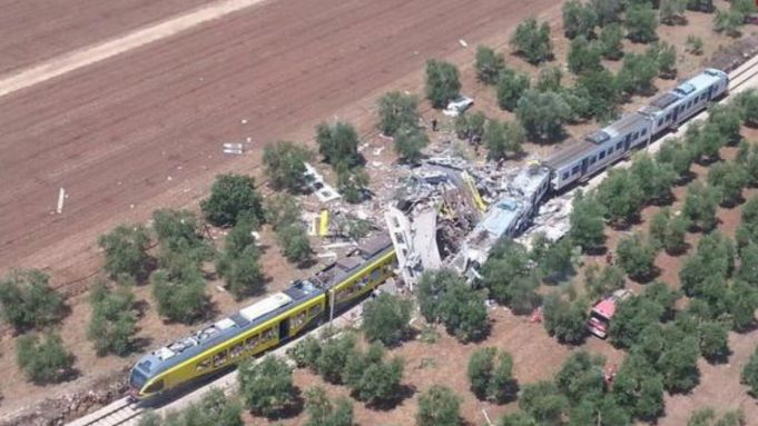 Puglia train crash kills over 20