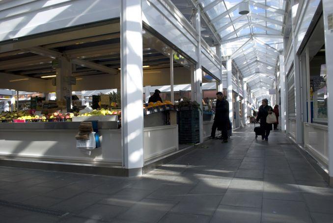 The modern 5,000-sqm Testaccio market is located near the old Mattatoio complex and MACRO museum.