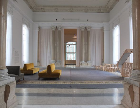 New look for the Sala delle Colonne