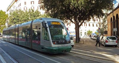 Rome's Tram 3 line now runs to Trastevere