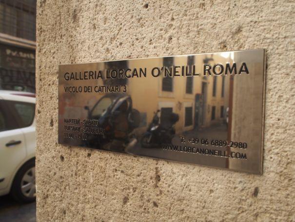 Galleria Lorcan O'Neill