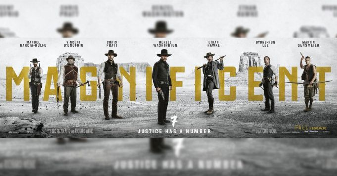 The Magnificent Seven showing in Rome