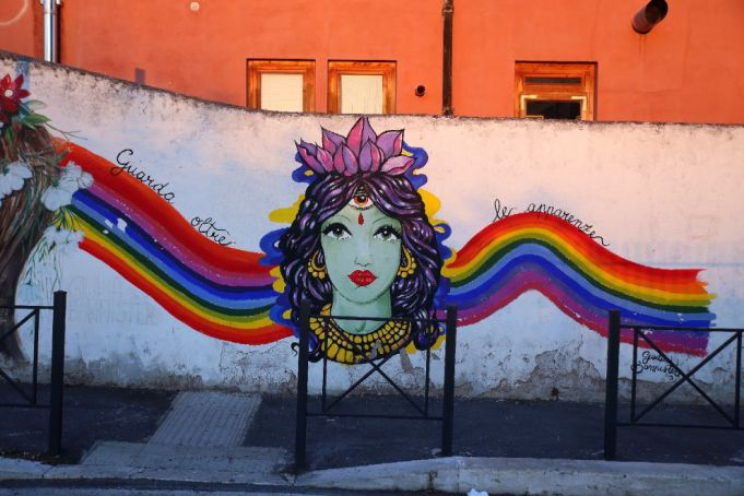 New street art project in Rome