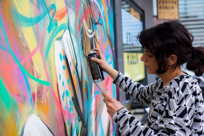 Alice Pasquini: Roman street artist