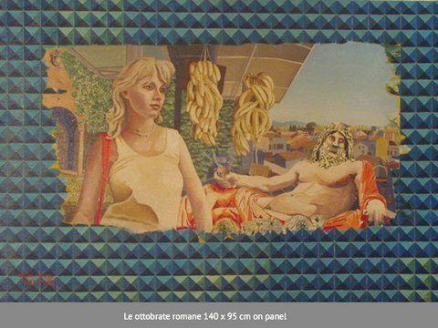 Le ottobrate romane 140x95cm on panel copy