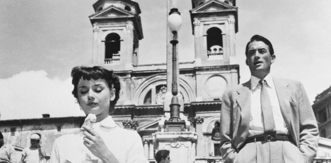 Rome Film Fest screens Roman Holiday at Spanish Steps