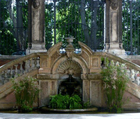 monumental fountain