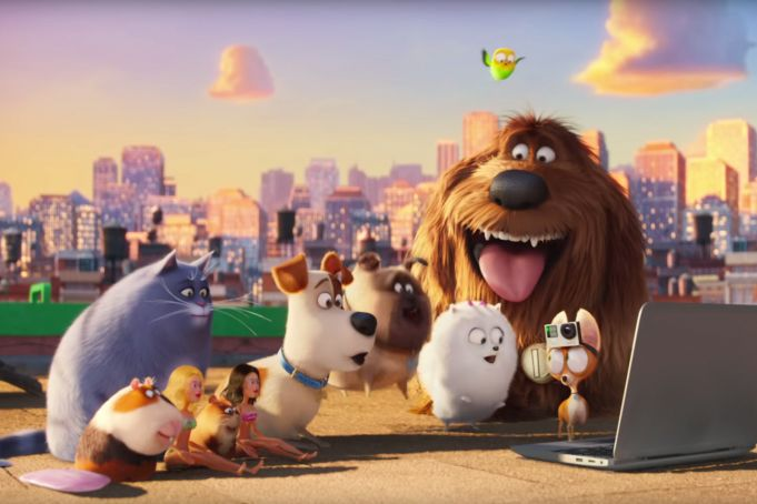 The Secret Life of Pets showing in Rome