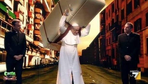 pope fridge raggi roma