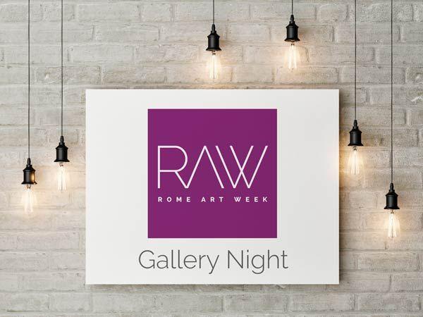 Rome Art Week: Gallery Night