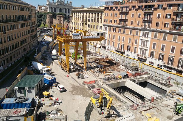 Rome's S. Giovanni Metro C station may open in autumn 2017