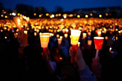 Democrats Abroad: Candlelight Vigil in Rome