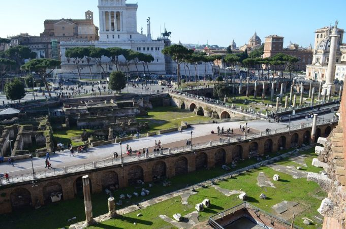 Rome reopens Imperial Fora