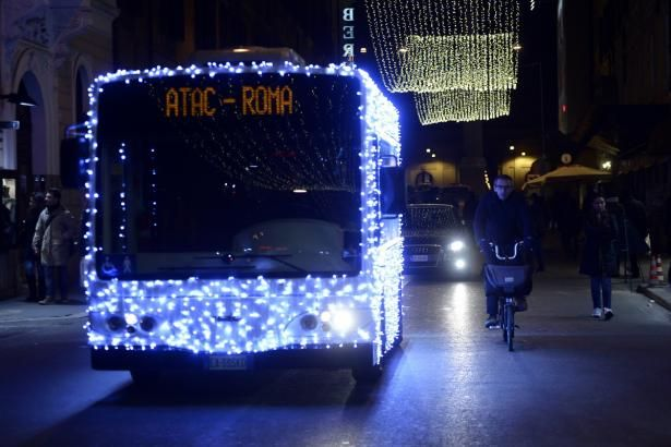 Rome public transport Christmas timetable