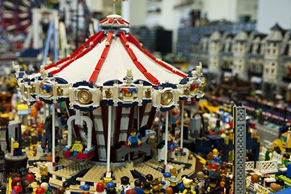 Lego exhibition in Rome