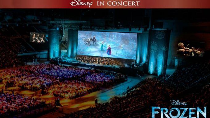 Frozen at Auditorium Parco della Musica