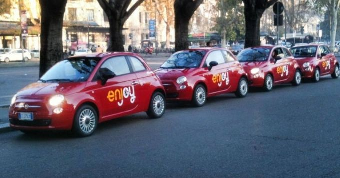 100 Enjoy cars stolen in Rome