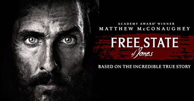 Free State of Jones showing in Rome