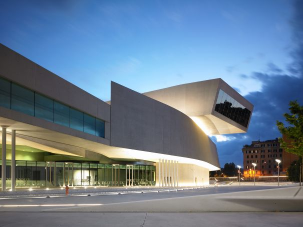 Rome's MAXXI partners with Milan Triennale