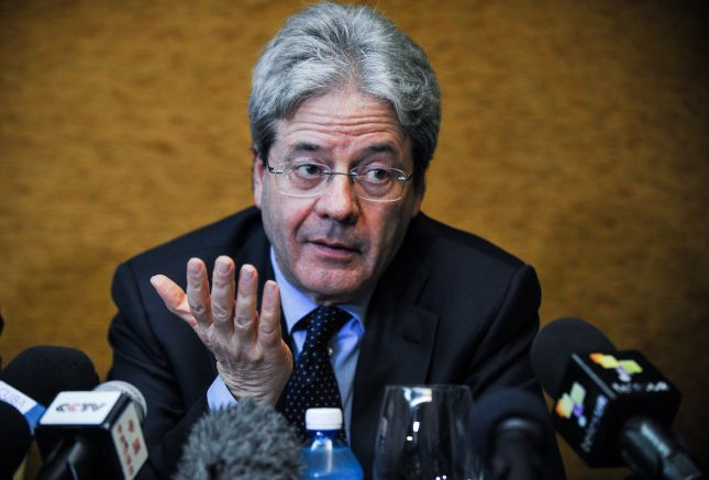 Outgoing foreign minister Paolo Gentiloni asked to form new government