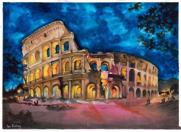 Colosseum by Ruihong Jaing.