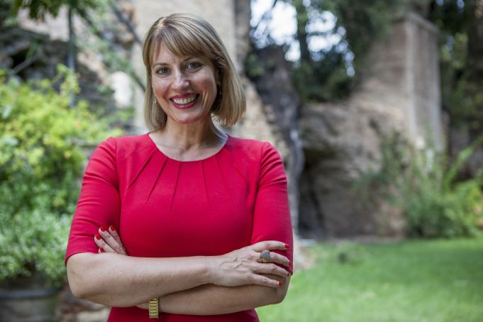 HM Ambassador to Italy, Jill Morris CMG.
