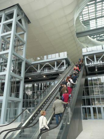 La Nuvola escalator